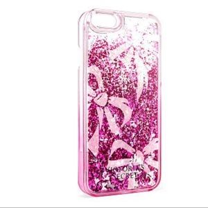 Victoria's Secret iPhone 6/6S Case Ribbon Glitter